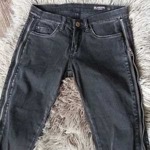 Blank NYC moto jeans